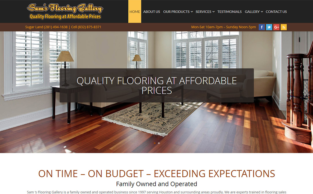 Sam's Flooring Gallery